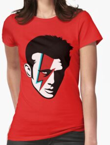 James Dean Bowiefied  Womens Fitted T-Shirt