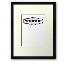Torgue Logo Framed Print