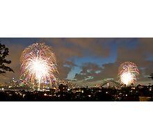 Sydney - New Year's Eve 2007 Photographic Print