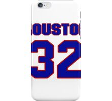 National football player Lin Houston jersey 32 iPhone Case/Skin