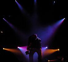 Sax Silhouette by Allison Lane