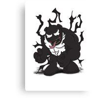 Venom Panda Canvas Print