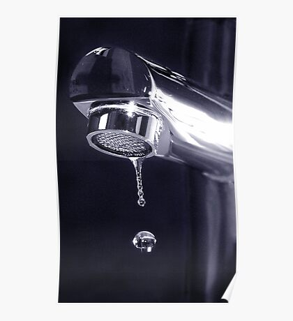 The Faucet Poster