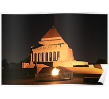 Shrine of Rememberance Poster