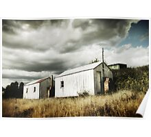 Shearers Sheds Poster