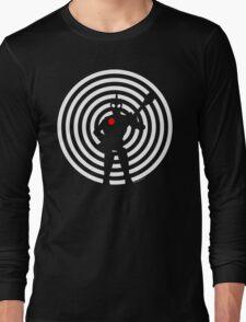 rock-it-boy! : negative space remix Long Sleeve T-Shirt