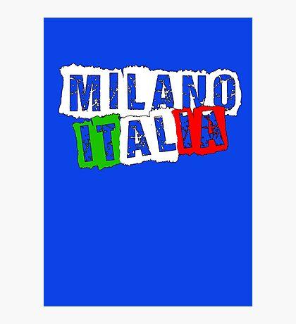 Milano Italia (1) Photographic Print