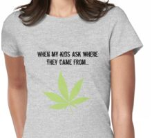 Pot. So true Womens Fitted T-Shirt