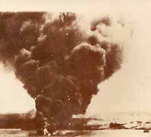Bombs Bursting in Tobruk by Boadicea