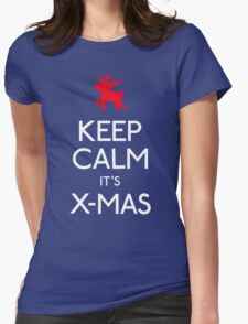 Keep calm it's xmas reindeer T-Shirt