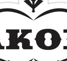 Jackobs Logo Sticker