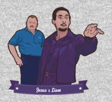 Lebowski's Jesus & Liam T-Shirt