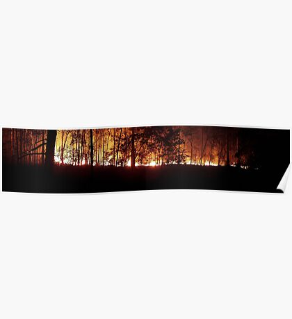 Fire at Ten Mile Poster