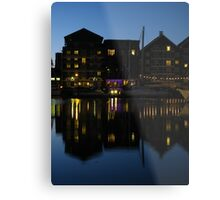 Night time at the Salthouse Hotel, Ipswich Metal Print