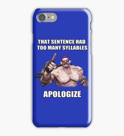 Mr.Torgue Quote iPhone Case/Skin