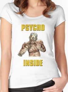 Psycho Inside Women's Fitted Scoop T-Shirt
