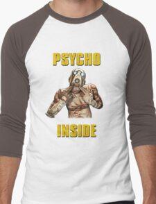Psycho Inside Men's Baseball ¾ T-Shirt