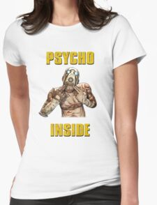 Psycho Inside Womens Fitted T-Shirt