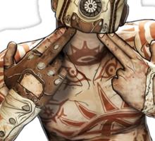 Psycho Inside Sticker