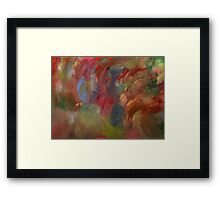 Pale Abstract Framed Print