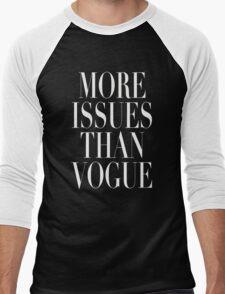 More Issues Than Vogue Men's Baseball ¾ T-Shirt