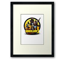 Team Icon Framed Print