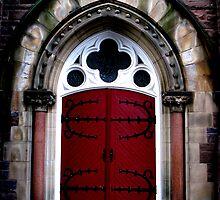 church door by PPPhotoArt