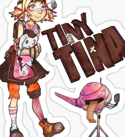 Tiny Tina Sticker