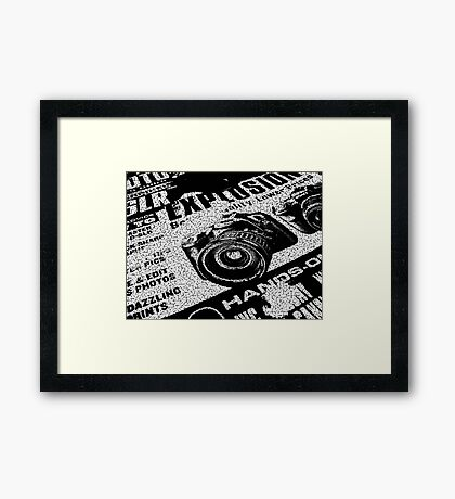 Which Camera? Framed Print