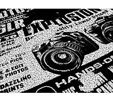 Which Camera? Photographic Print