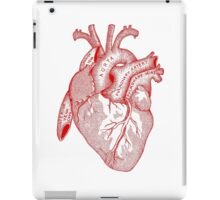 Study of the Heart [red] iPad Case/Skin