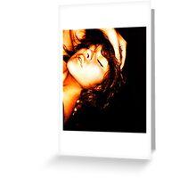 Golden Saturation - MaraMora Greeting Card