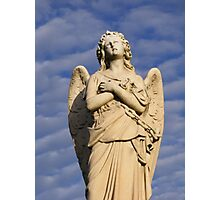 Praying Angel Photographic Print