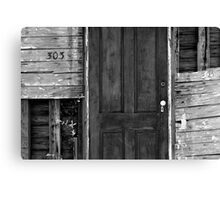 Charleston Door Canvas Print