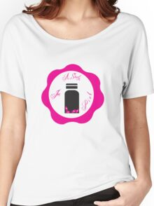 A Study in Pink 'Wax Seal' Women's Relaxed Fit T-Shirt