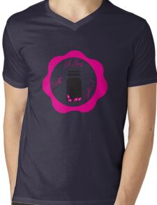 A Study in Pink 'Wax Seal' Mens V-Neck T-Shirt
