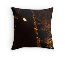 Christmas at St. Saviours, Pimlico Throw Pillow