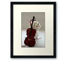 The Musician. Framed Print