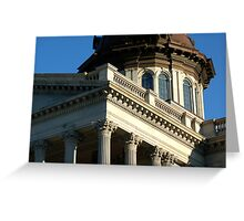 Columbia SC State House 2 Greeting Card