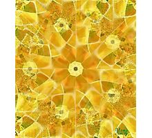 Sunflower Abstract Photographic Print