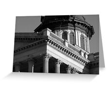 Columbia SC State House 3 Greeting Card