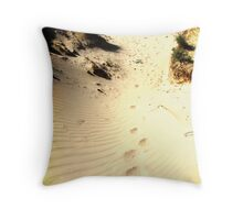 leave the story untold Throw Pillow