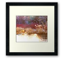 LAYERS OF EARTH Framed Print