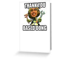 Based Imaqtpie God Bless Greeting Card