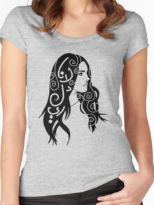 Lana Del Rey Women's Fitted Scoop T-Shirt