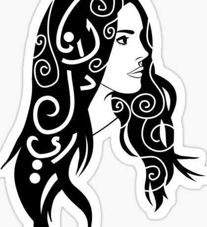Lana Del Rey Sticker