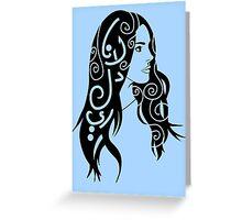 Lana Del Rey Greeting Card