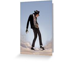 Michael Jackson in Paradise Greeting Card
