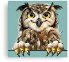 Cheeky Owl 2 Canvas Print