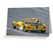Caterham at Brands Hatch Greeting Card